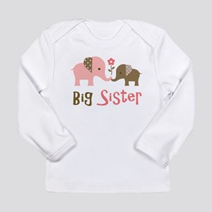 Big Sister - Mod Elephant Long Sleeve T-Shirt